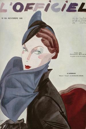L'Officiel, August 1936 - Marcel Rochas