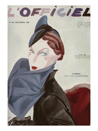 L'Officiel, November 1936 - Le Monnier
