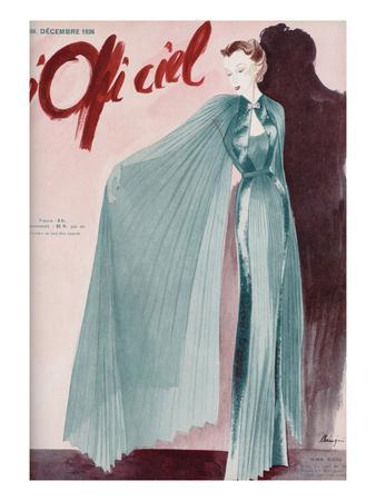 L'Officiel, December 1936 - Réveillon Nina Ricci