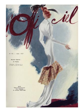 L'Officiel, August 1937 - Alix
