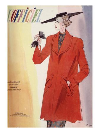 L'Officiel, March 1938 - Nina Ricci