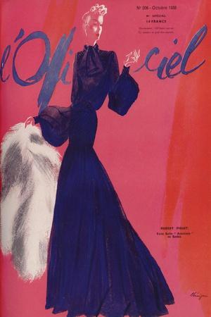 L'Officiel, July 1938 - Rose Valois