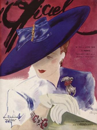 L'Officiel, June 1939 - Rose Valois