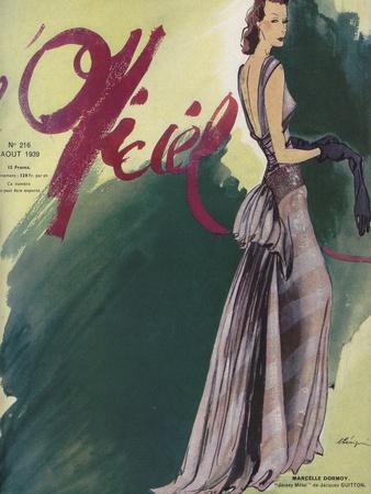 L'Officiel, August 1939 - Marçelle Dormoy