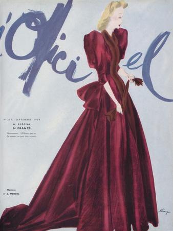 L'Officiel, September 1939 - L. Mendel