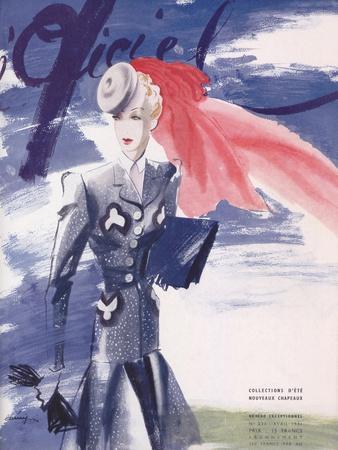 L'Officiel, April 1941 - Collection d'Été Nouveaux Chapeaux