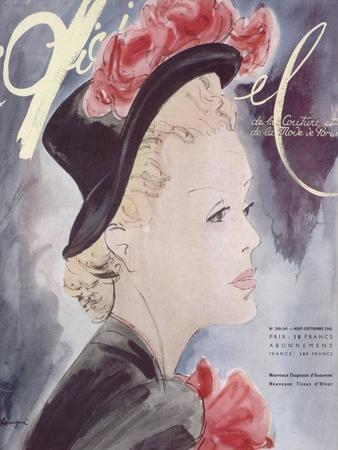 L'Officiel, August-September 1941 - Nouveaux Chapeaux d'Automne, Nouveaux Tissus d'Hiver
