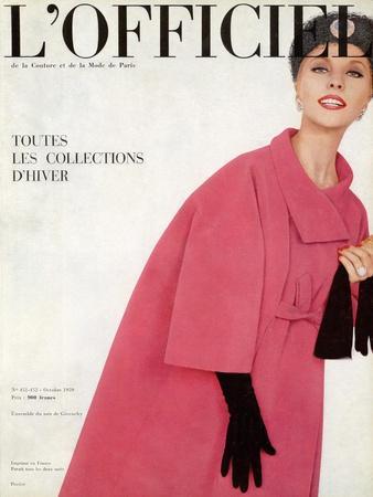 L'Officiel, October 1959 - Ensemble du Soir de Givenchy