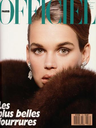 L'Officiel, November 1988 - Robyn Mackintosh
