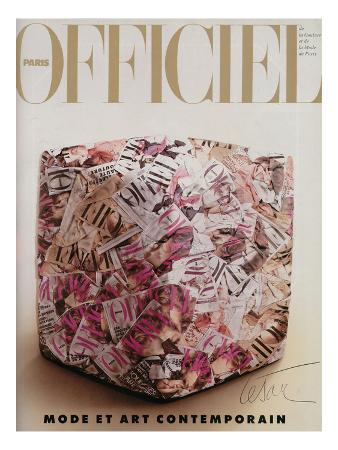 L'Officiel, December 1989