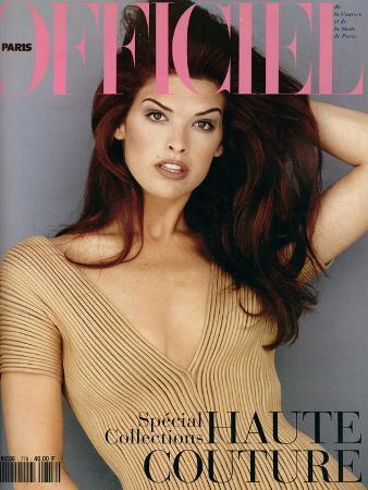 L'Officiel, March 1993 - Shana Habillée Par Valentino
