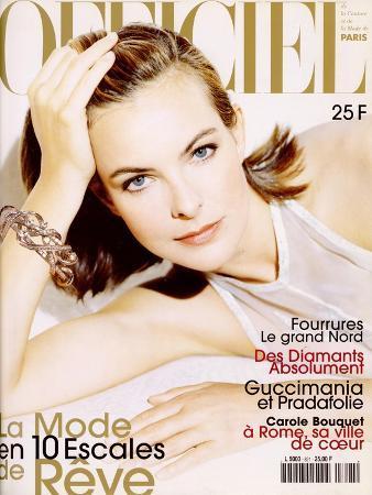 L'Officiel, December 1997 - Carole Bouquet