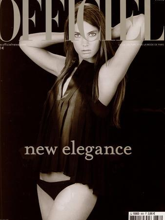 L'Officiel, 2002 - Jessica Miller