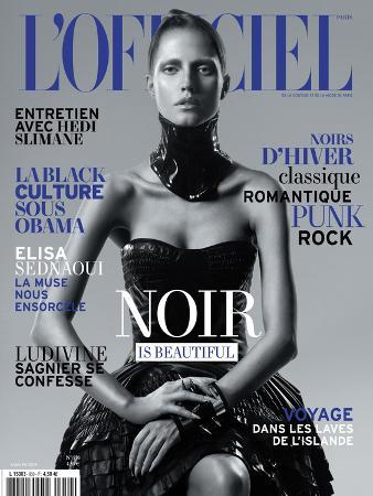 L'Officiel, November 2010 - Noir Is Beautiful, Kasia