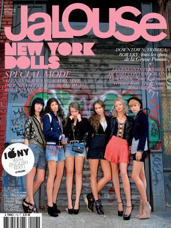 Jalouse, September 2008 - Ilirjana, Pamela, Isabelle, Harley, Annabelle, Lizzy