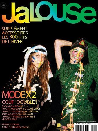 Jalouse, October 2008 - Diva et Lola