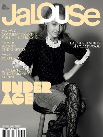 Jalouse, February 2009 - Dakota Fanning