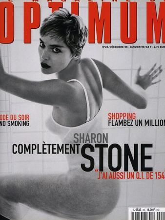 L'Optimum, December 1998-January 1999 - Sharon Stone
