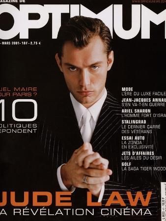 L'Optimum, March 2001 - Jude Law