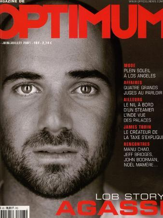 L'Optimum, June-July 2001 - André Agassi