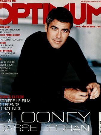 L'Optimum, February 2002 - George Clooney
