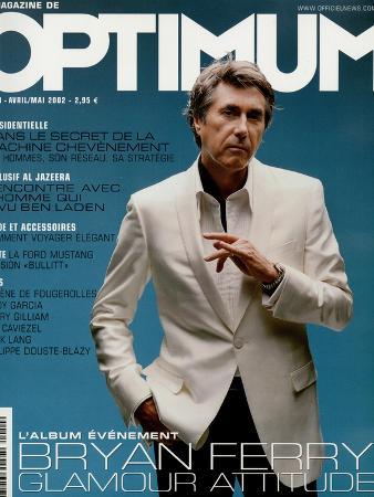 L'Optimum, April-May 2002 - Bryan Ferry Est Habillé en Gucci, Montre Polex