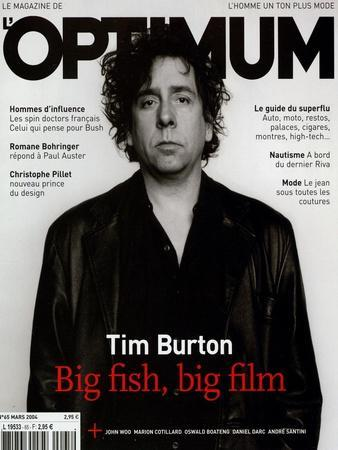 L'Optimum, March 2004 - Tim Burton