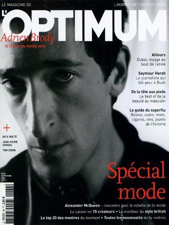 L'Optimum, September 2004 - Adrien Brody