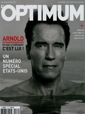 L'Optimum, November 2004 - Arnold Schwarzenegger