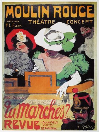 Moulin Rouge Poster, c1905