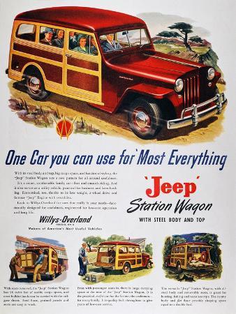 Jeep Station Wagon, 1947