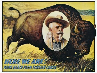 W F Cody Poster, 1908