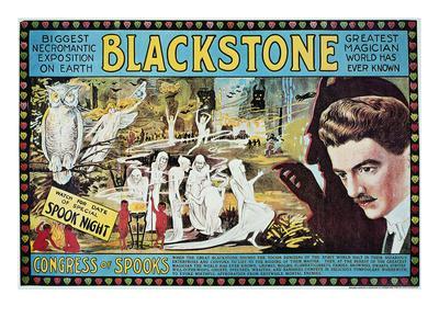 Blackstone: Poster, c1920