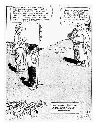 Milquetoast: Golf