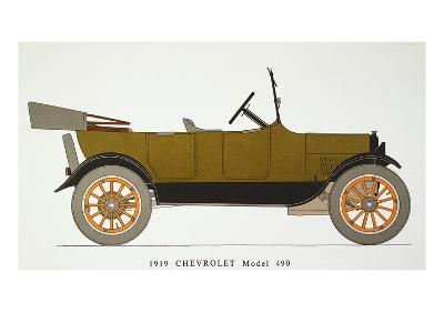 Auto: Chevrolet, 1919
