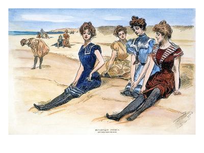 Gibson Girls, 1900