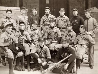 Baseball: West Point, 1896