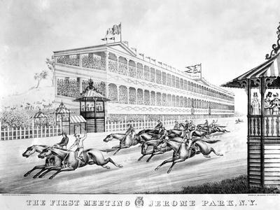 Bronx: Horse Race, 1866