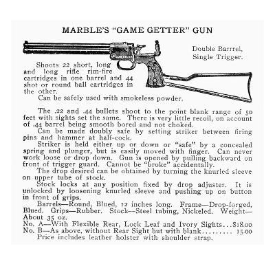 Marble's 'Game Getter' Gun