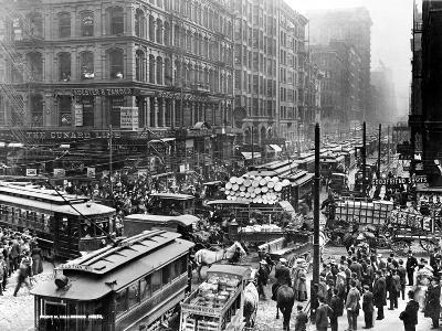 Chicago: Traffic, 1909