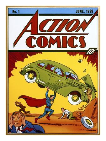 Superman Comic Book, 1938