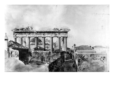 Greece: Parthenon, 1765