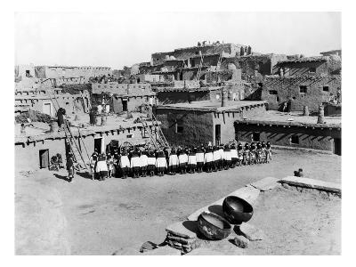 New Mexico: Zuni Ceremony