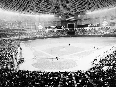 Baseball: Astrodome, 1965