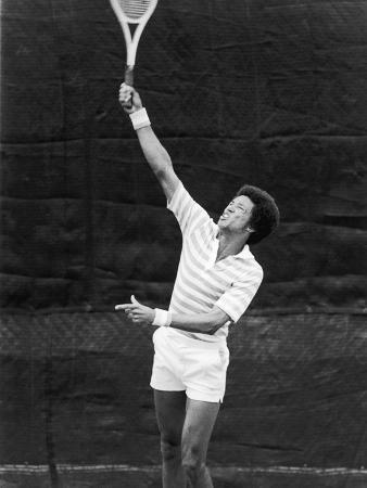 Tennis Pro Arthur Ashe, July 1975