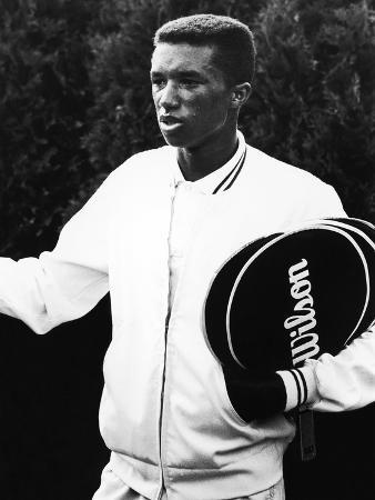 Tennis Pro Arthur Ashe, 1963