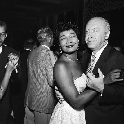 Pearl Bailey and Otto Preminger, 1954