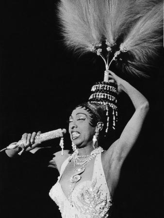 Josephine Baker, Chicago's Regal Theater, February 1960