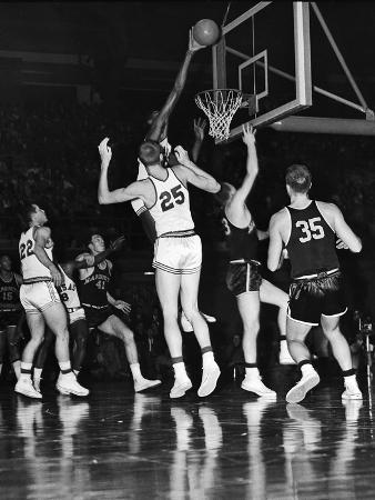 Wilt Chamberlain, Kansas University Jayhawks, 1957