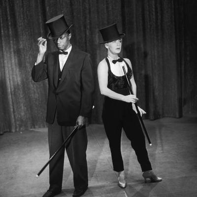 "Nat King Cole and His Guest Star Betty Hutton Perform a Dance Routine, ""Nat King Cole"" Show, 1957"